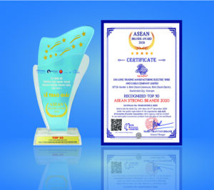 DAILONG ELECTRIC CABLE IS RECEIVED THE TOP 50 ASEAN BRANDS AWARD 2020